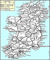 Map Ireland Good Source For Old Irish Railway Maps Boards Ie
