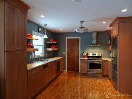 maple kitchen cabinets and blue wall color kitchen cabinets