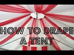 tent draping how to drape a tent