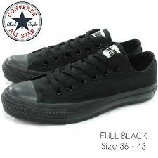 Sepatu Converse Black jual sepatu converse all grade ori black syalalaa shop