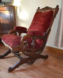 Antique Nursing Sewing Rocker Small Star Pattern Seat I Love This Rocking Chair My Mom Has An Old Victorian Rocking