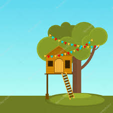 tree house children s playhouse on the tree secret place