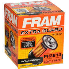 fram extra guard oil filter ph3614 walmart com