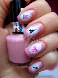 super girly nail design by lovely nail art on deviantart