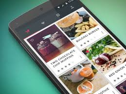 application android cuisine signa android ui design community food cooking application