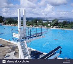 Germany Schleswig Holstein Sylt Keitum Outdoor Swimming Pool