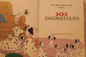 book 101 dalmations 1974 walt disney childrens book
