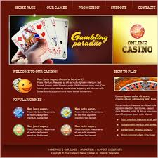 free red web game free website templates for free download about