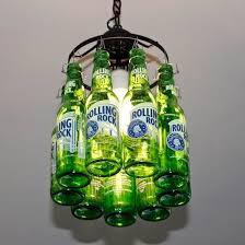 Beer Bottle Chandelier Diy Best 25 Beer Bottle Lights Ideas On Pinterest Beer Bottle