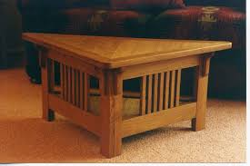 Triangular Coffee Table Made Triangular Coffee Table By Whim Wood Custom Furniture