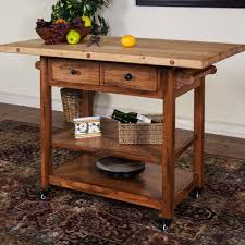 Kitchen Island Metal Kitchen Carts Kitchen Island With Seating For 3 Unfinished Wood