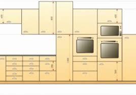 cuisine taille taille standard meuble juste hauteur d une cuisine idées