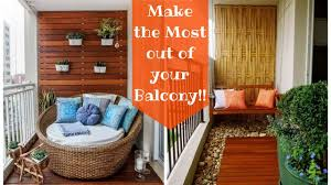 Small Balcony Decorating Ideas Home by 29 Creative Small Balcony Decorating Ideas Plan N Design Youtube