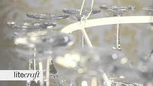 Wine Glass Chandelier Diy 3 Tier White Wine Glass Chandelier Litecraft Lighting Your