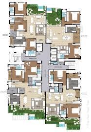 centralized floor plan ridhiraj builders