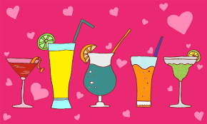 mixed drink clipart valentine u0027s day drinks 14 cocktails for single people this sunday