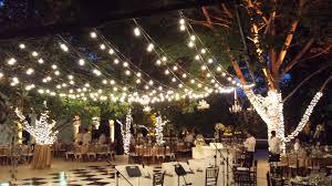 backyard hanging light with how to plan and hang patio lights 2