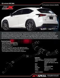 lexus nx200t price japan apexi n1 x catback exhaust for lexus nx 2015