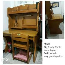 study table for sale pure wood big study table from japan for sale philippines find 2nd
