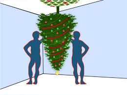 hang a christmas tree upside down christmas tree holidays and xmas