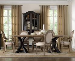 rectangle pedestal dining table set with oval back chairs by