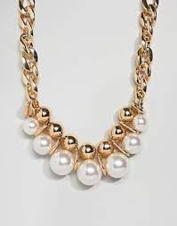 gold chunky necklace images Chunky gold chain necklace shopstyle jpg