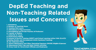 deped teaching and non teaching related issues and concerns