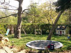 Swing Set Edgingwwwbackyardfundandleisurecom  For Lf - Landscape designs for large backyards