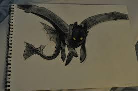 train dragon u0027s toothless ileanonyoo deviantart