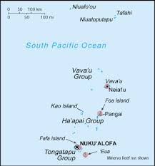 tonga map swim with whales tonga diving swimming with whales in tonga