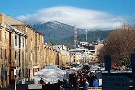 salamanca markets in winter picture of salamanca market hobart