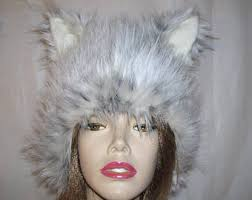 Snow Leopard Halloween Costume Lynx Ears Etsy