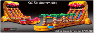 inflatables for sale by unique jumpers water slides