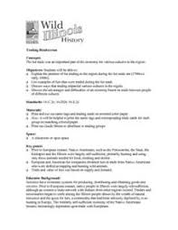 fur trading voyageur lesson plans u0026 worksheets reviewed by teachers