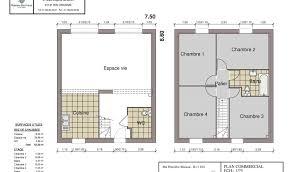 plan maison etage 3 chambres plan maison rdc 3 chambres great plan maison chambre elfie rdc with