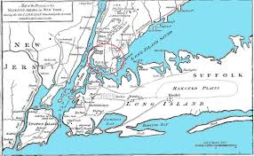Map Of New York And Pennsylvania by Kniffens Of Norfolk County