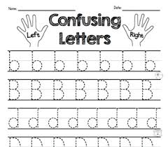 B And D Worksheets Reversal Practice B D P Letter Discrimination Worksheets By Ms Knopf