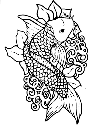 picture koi fish coloring pages picture koi fish coloring