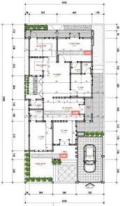 software design layout rumah jasa desain rumah tinggal 1 lantai milik ibu saskiah di kab bone