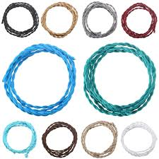online get cheap colored power electrical cord aliexpress com