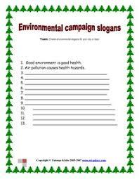 esl english vocabulary printable worksheets environment