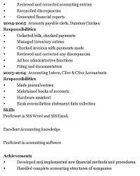 Accountant Resume Template Word Accountant Resume Sample