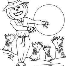 scarecrow coloring pages videos kids reading u0026 learning