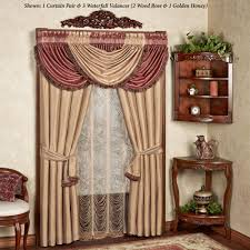 elegant curtains touch class