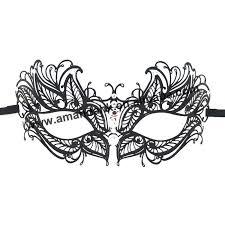 laser cut masquerade masks wholesale mask 015b wholesale luxury fashion black metal laser cut