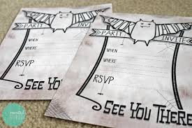Halloween Birthday Party Ideas Pinterest by Free Printable Spooktacular Party Invites For Halloween