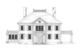 colonial revival house plans federal revival house plans design homes