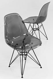 www roomservicestore com clear smoked bucket chair