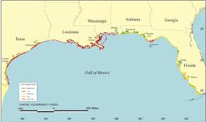 map of the gulf of mexico term change gulf of mexico coastal observing system