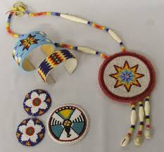 indian beaded necklace images Native american plains indian beaded jewelry jpg